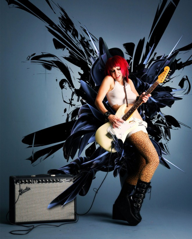 17-photo-effect-woman-music-by-poisonvectors.preview