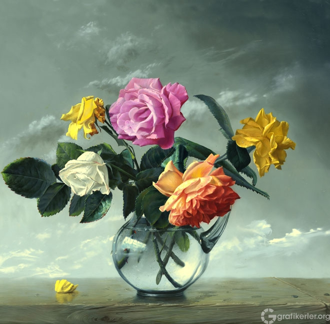 9-oil-painting-rose