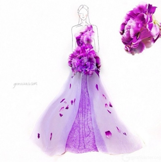 Fashion-Design-Illustrations-Out-Of-Flower-Petals-1