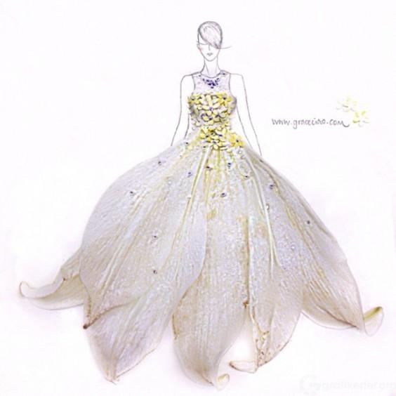 Fashion-Design-Illustrations-Out-Of-Flower-Petals-10