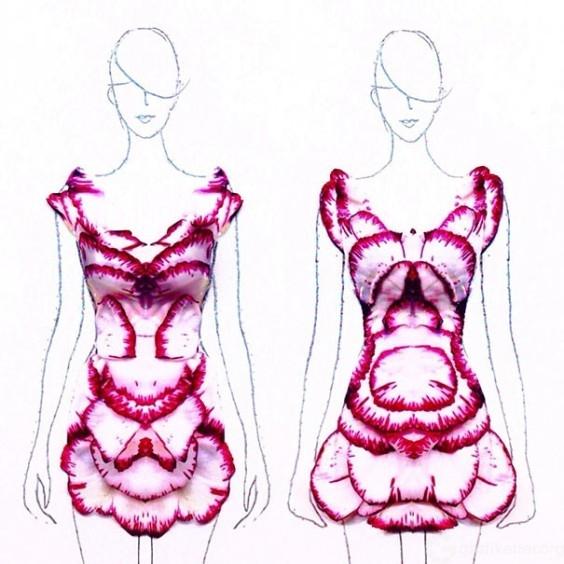 Fashion-Design-Illustrations-Out-Of-Flower-Petals-4