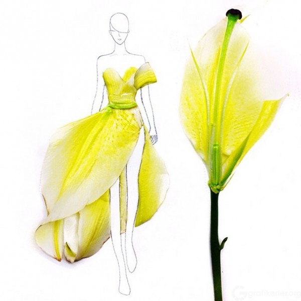 Fashion-Design-Illustrations-Out-Of-Flower-Petals-5-600x600