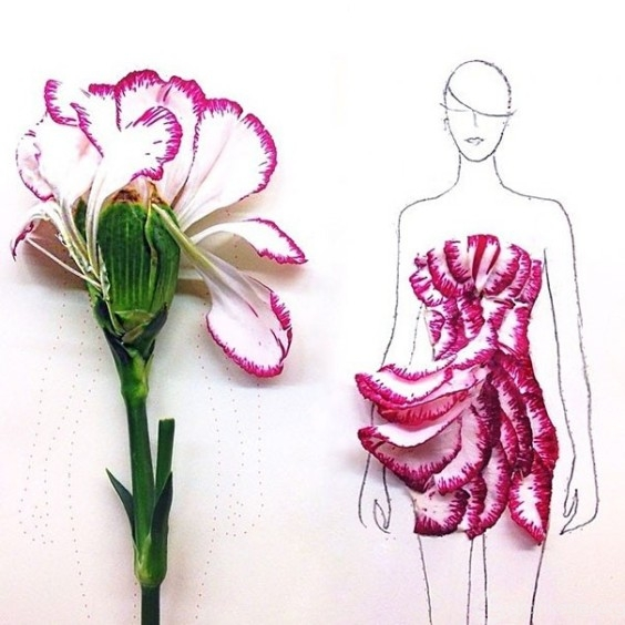 Fashion-Design-Illustrations-Out-Of-Flower-Petals-8